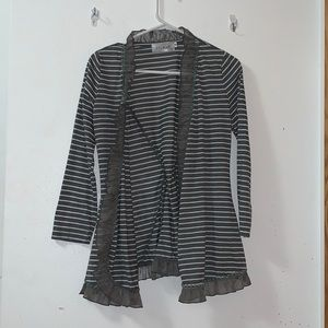 5th Culture open front cardigan size M